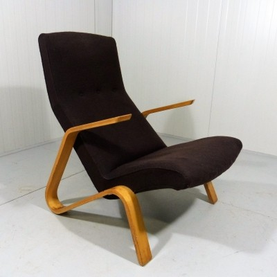 Early Edition Grasshopper Chair by Eero Saarinen, 1950's