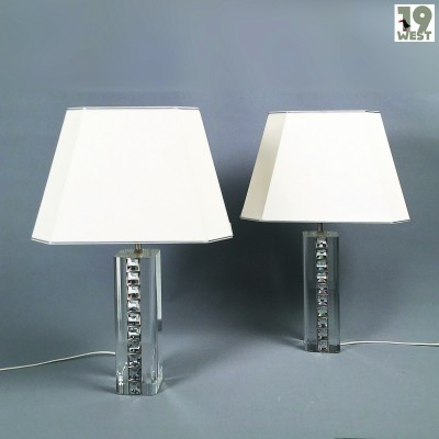 Regency table lamps from the 1980's by Tomas & Saez Madrid