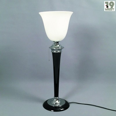 Art Deco table lamp by Mazda