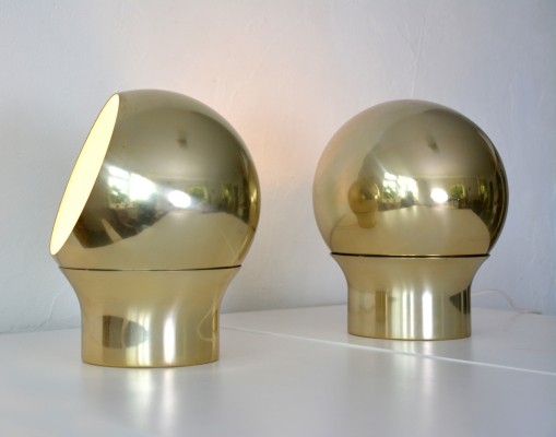 Pair of Type 3 desk lamps by Hemi, 1970s