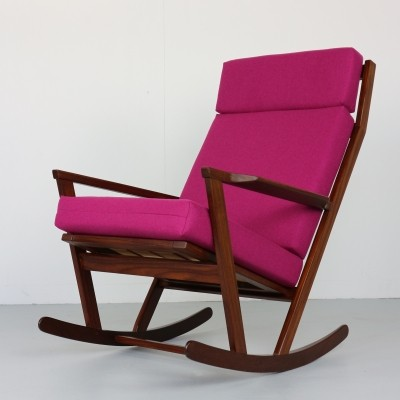 Poul Volther Rocking Chair by Frem Røjle Denmark, 1960s