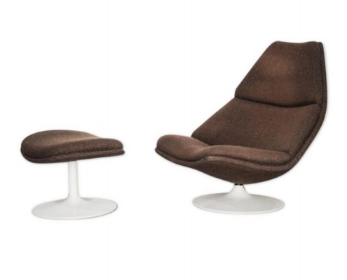 F510 lounge chair by Geoffrey Harcourt for Artifort, 1960s