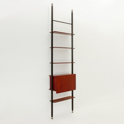 Teak Wall Unit by Marco Lavarello for Domus Linea, 1960s