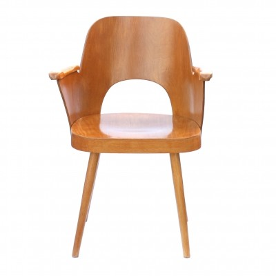 Czechoslovak armchair by Oswald Haerdtl for TON