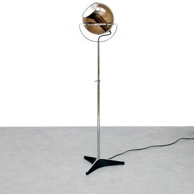 Vintage Globe 2000 floor lamp by Frank Ligtelijn for Raak Amsterdam