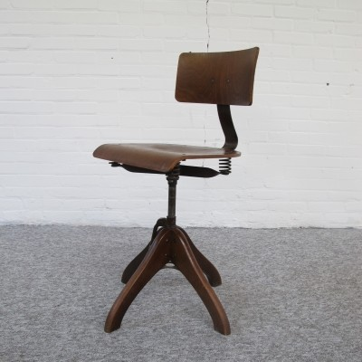 Industrial chair by Margarete Klöber for Polstergleich