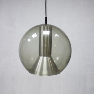 Large globe pendant lamp by Frank Ligtelijn for Raak