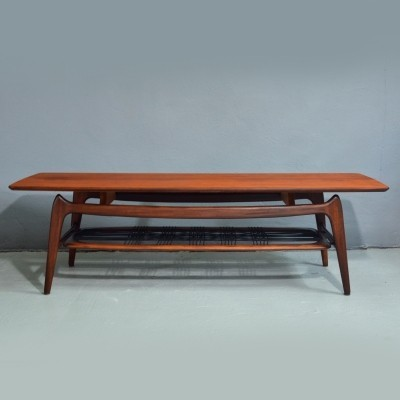 Teak coffee table by Louis van Teeffelen for Webe