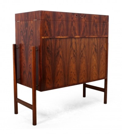 Mid Century Dry Bar in Rosewood by Mogens Kold