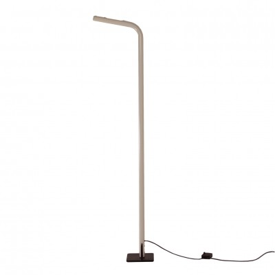 White Italian Uplighter Floor Lamp, 1980s