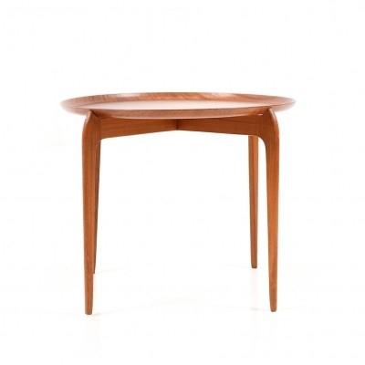Danish Tray Table in Teak by Willumsen & Engholm for Fritz Hansen