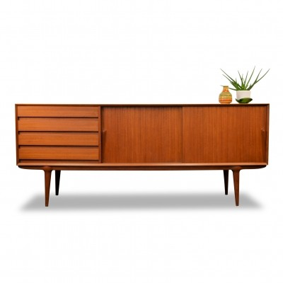 Vintage Danish design Gunni Omann model 18 teak sideboard