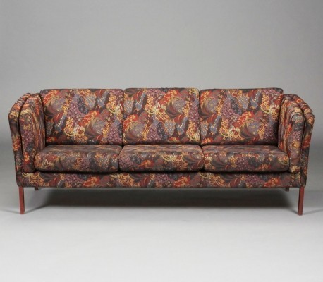 Danish Sofa in original flower fabric