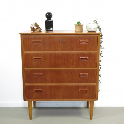 Teak chest of drawers by Gustavsson Bröderna