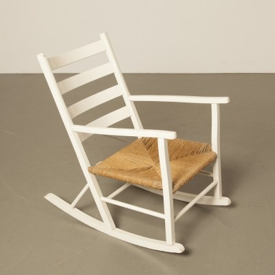 Danish rocking chair, 1950s