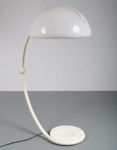 Serpente floor lamp by Elio Martinelli for Martinelli, 1960s