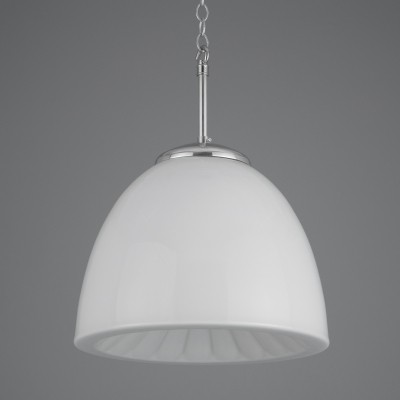 Decorative vintage opaline Czech pendant lights