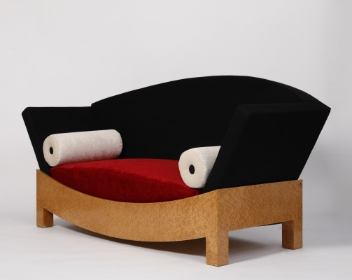 Mitzi sofa by Hans Hollein for Poltronova, 1980s
