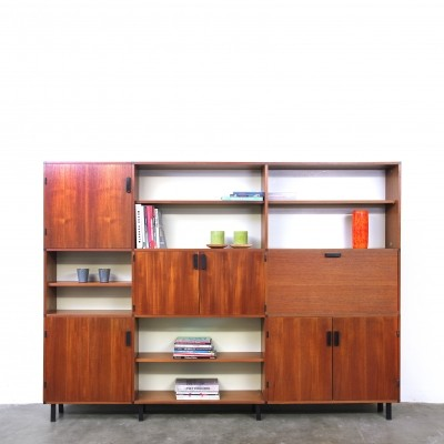 Made to Measure wall unit by Cees Braakman for Pastoe, 1950s