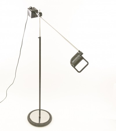 Maniglia floor lamp by De Pas, D'Urbino & Lomazzi for Stilnovo, 1970s
