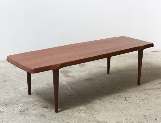 Solid Teak Coffee table made in Denmark,1950s