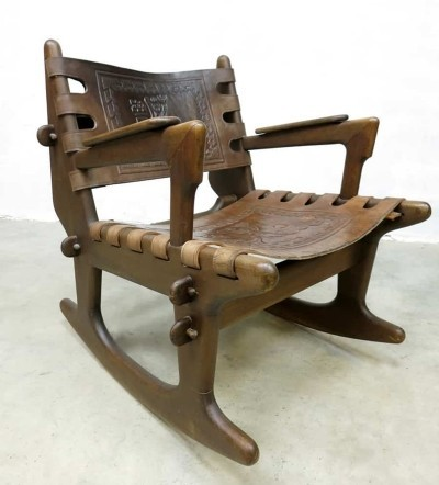 Ecuador rocking chair by Angel Pazmino