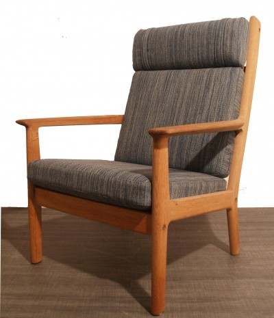 Hans Wegner Danish oak armchair by Getama