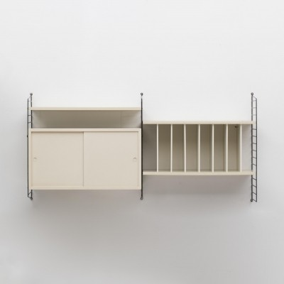 Wall unit by Nisse Strinning for String, Sweden 1950