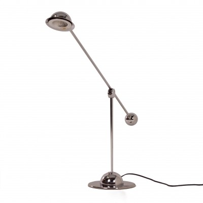 Chrome Counterbalance Desk Lamp by Optelma, Switzerland 1970s