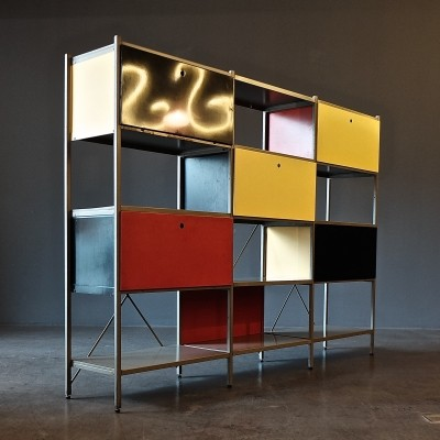 Shelf System 663 cabinet by Wim Rietveld for Gispen, 1950s