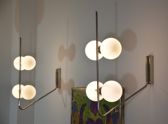Pair of Italian Mid-Century Wall Lights, 1960s