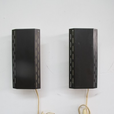 Pair of vintage wall lamps, 1970s
