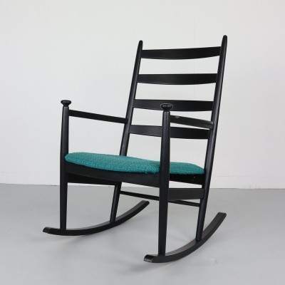 Niels Eilersen Rocking Chair, Denmark 1960s