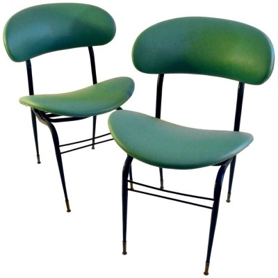 Mid-Century Italian Occasional Chairs
