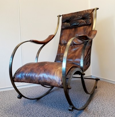 Early 20th century rocking chair by R.W. Winfield
