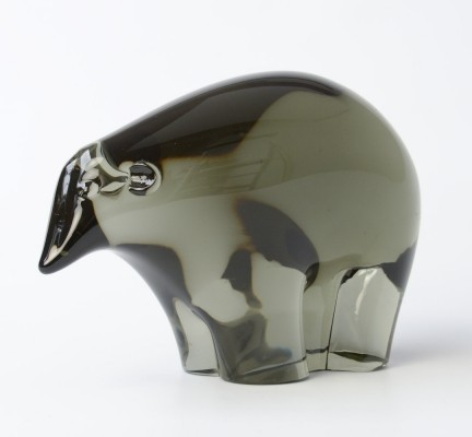 Murano Glass Ice Bear by Livio Seguso
