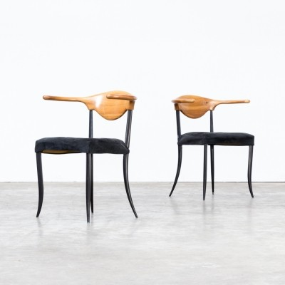 Italian design chairs, 1980s