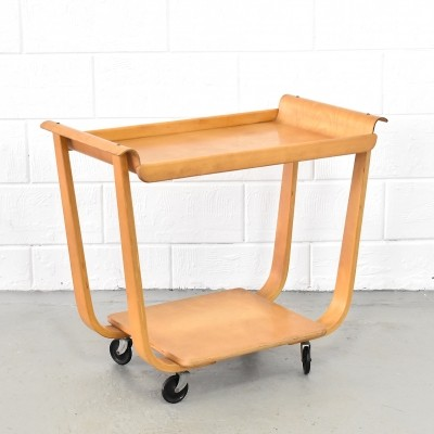 PB01 serving trolley by Cees Braakman for Pastoe, 1960s