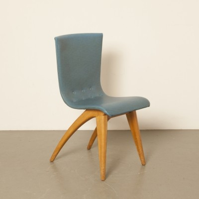 Swing dinner chair by G. van Os for Van Os Culemborg, 1940s