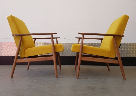 H. Lis Mid Century easy chair, 1970s