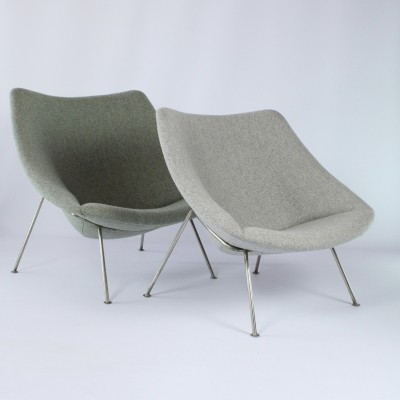 Small & large Oyster by Pierre Paulin for Artifort