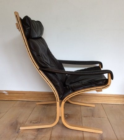 Original Westnofa leather Siesta armchair