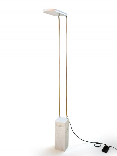 Marble Base Gesto Terra Floor Lamp by Bruno Gecchelin for Skipper