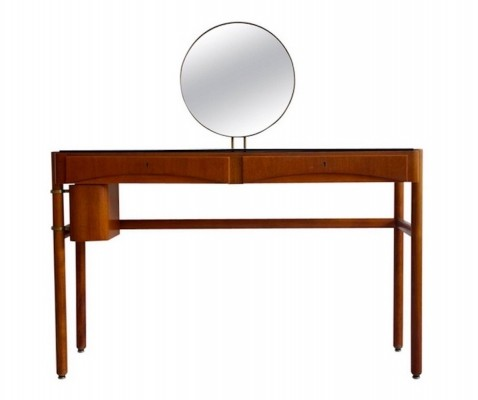 Bertil Fridhagen Mirrored Dressing Table by Bodafors, 1957
