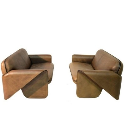 Ds 125 seating group by Gerd Lange for De Sede, 1980s