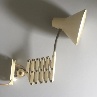 Scissor wall light by H. Busquet for Hala Zeist, 1960s