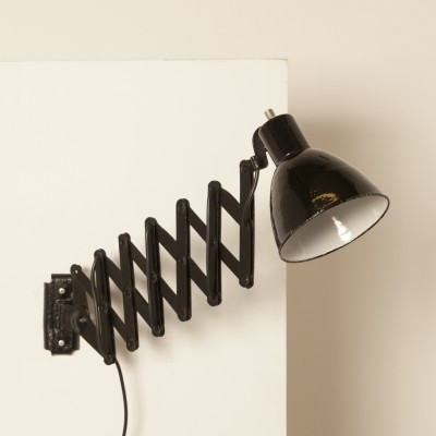Bauhaus harmonica wall light, 1920s