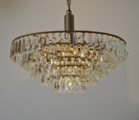 Crystal chandelier by Bakalowits & Soehne, 1960s