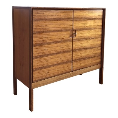 Swiss Form Rio Palisander Rosewood Cabinet, 1960s