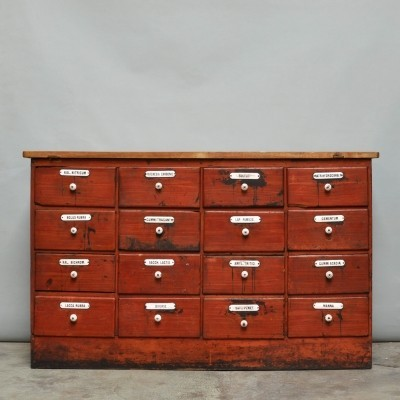 Apothecary cabinet, 1920s